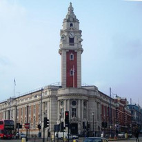 LAmbeth Town Hall and clock tower