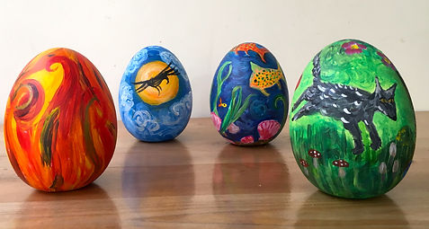 Eggs of the four elements