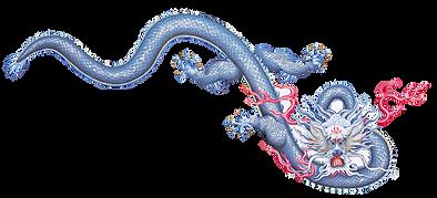 dragon cut out