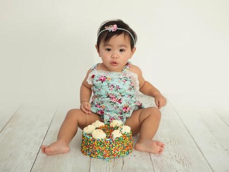 Petals and Pops: Audrey celebrates one in style   Illawarra Newborn & Baby Photographer   Nina P