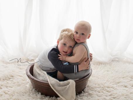 Daddy's Boys | Illawarra Newborn & Baby Photographer | Nina Photography (Wollongong)