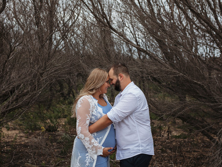 Ashlea + Adam | Maternity Session | Nina Photography Studios (Wollongong)