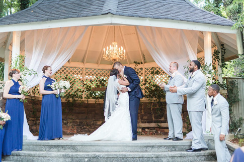 Wedding Ceremony at the Devin House