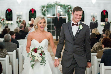 Wedding Ceremony at Southern House & Garden in Knoxville, AL