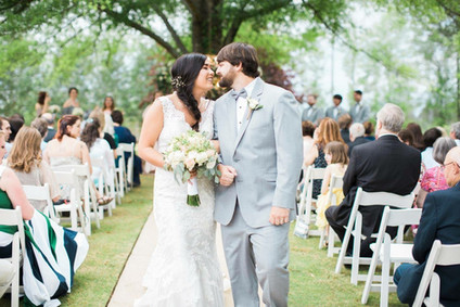 Outside Ceremony Space at Mathews Manor in Springville, AL