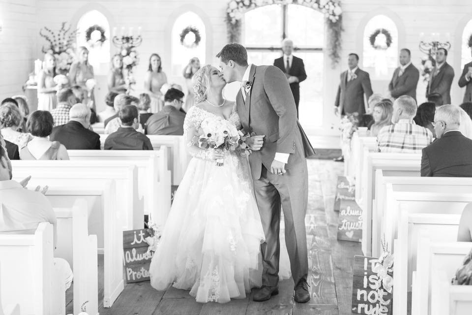 Southern House & Garden wedding ceremony