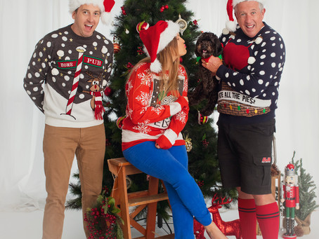 Comedic relief for the silly season | Christmas Photography | Illawarra Portrait Photography | Nina