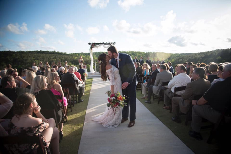 Beautiful views and the joining of two at Windgate Farms in Jasper, AL