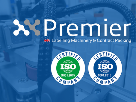 Premier Labellers is ISO 9001 & 14001 Certified