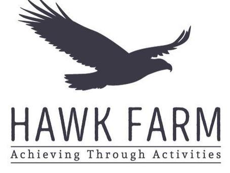 Hawk Farm Visit, Our dedicated fundraising organisation 2020