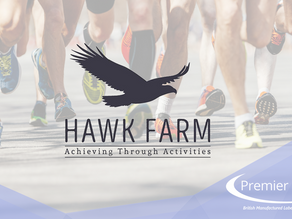 Premier take on the Harwich Half Marathon  for Hawk Farm