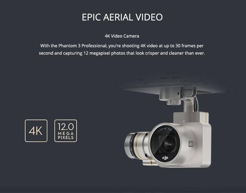 Phantom 3 Pro Camera