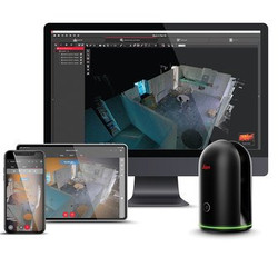 Leica BLK360 Tablet-Phone-Monitor - Cons