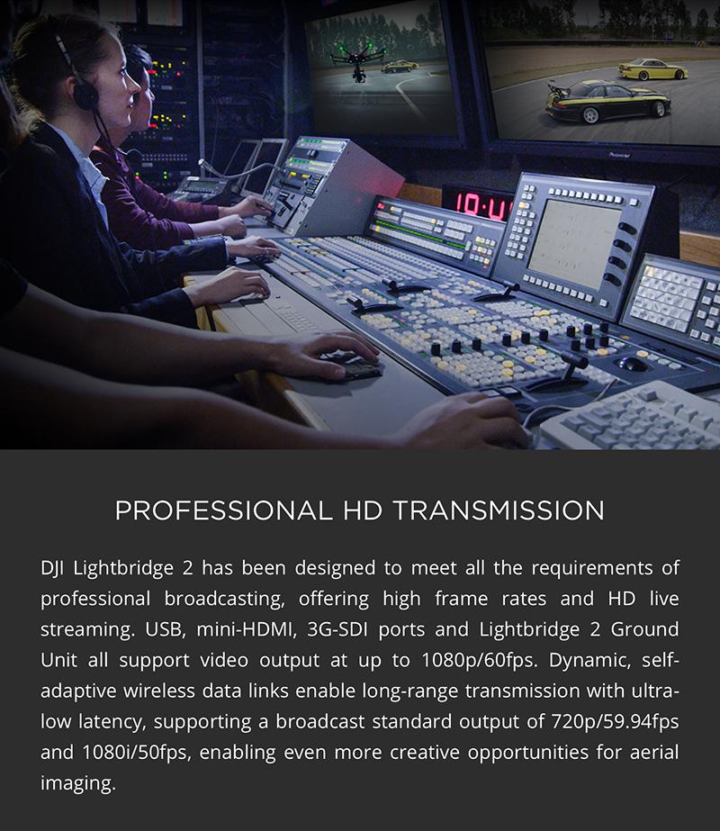 LIVE Transmission with Lightbridge