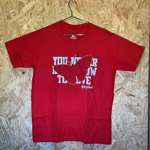 Camiseta borboleta (malha fio 30.1 - alta qualidade)