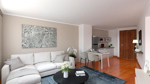 Senior Suite (Sala y cocineta)