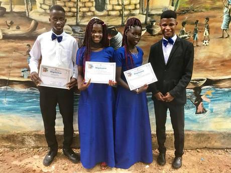 Nuestros graduados! Our Graduates!