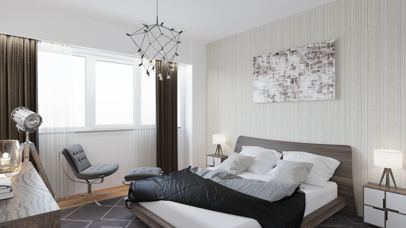 Dormitor1 Casa Presei Residence