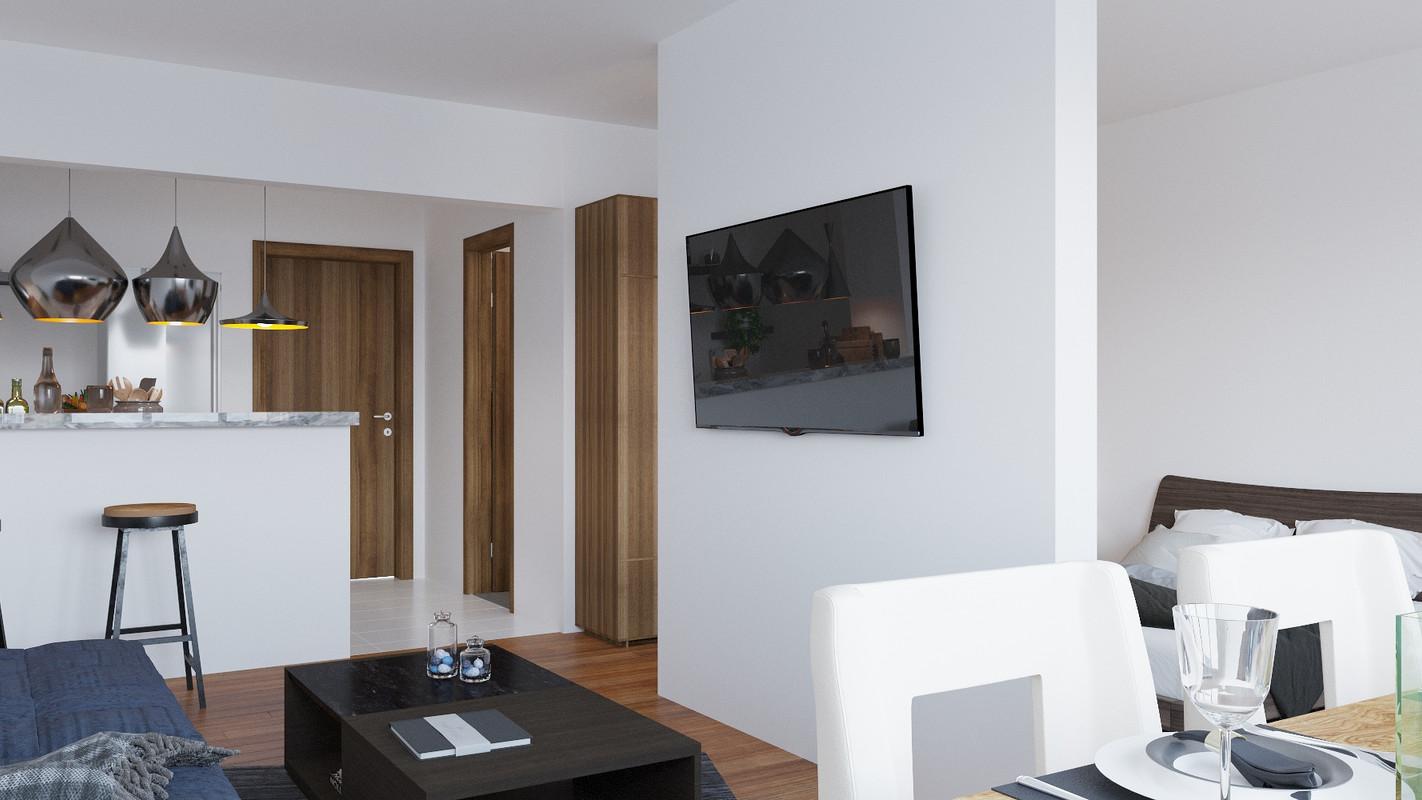 Studio dublu 2 Casa Presei Residence