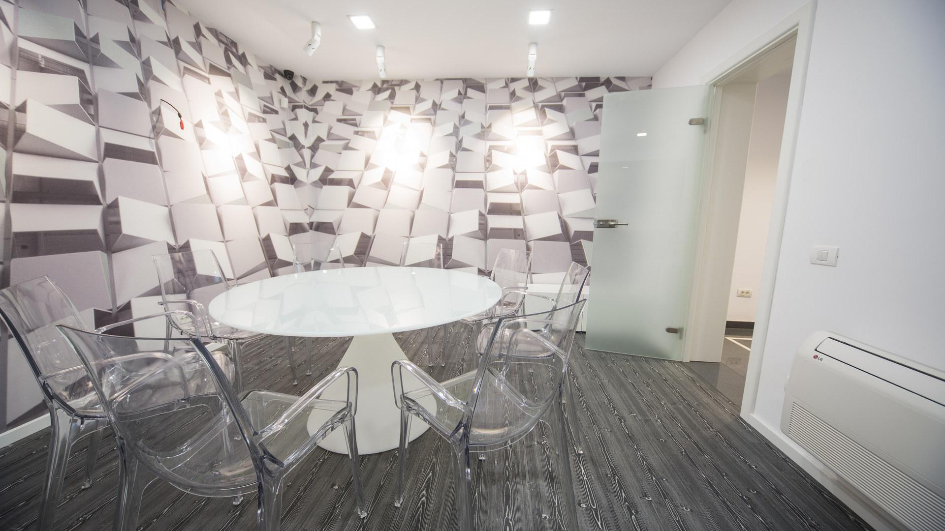 Grey meeting room SPN Aequitas