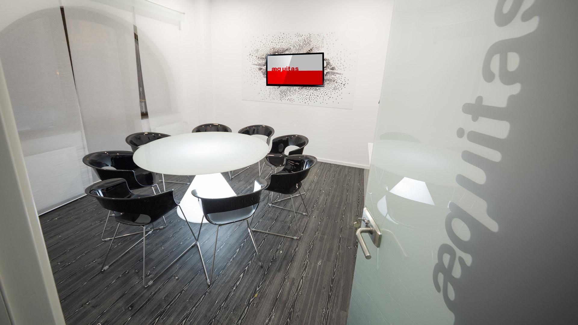 Black meeting room SPN Aequitas