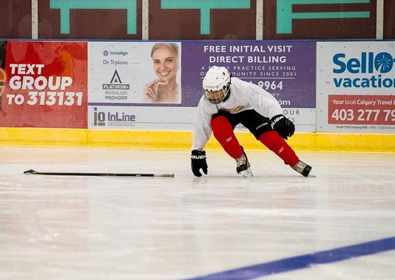 Ice Hockey Power Skating