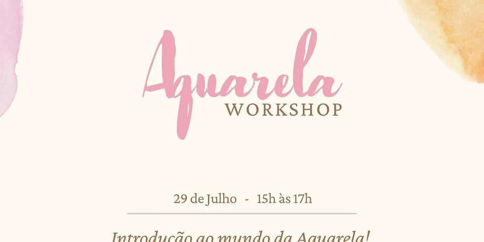 Introdução ao mundo da Aquarela!
