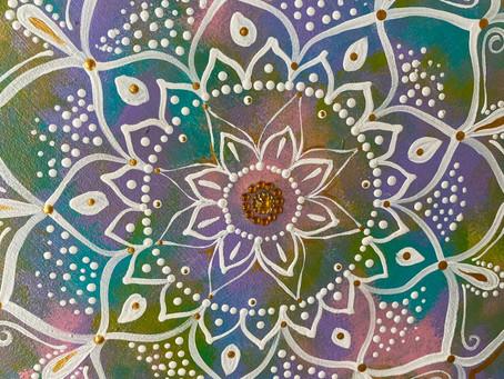 A arte da Mandala Intuitiva!