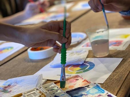 Workshop de Aquarela com @mochi.estudio