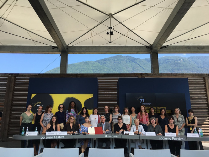 Pledge for Gender Parity and Inclusion signed at Locarno#71