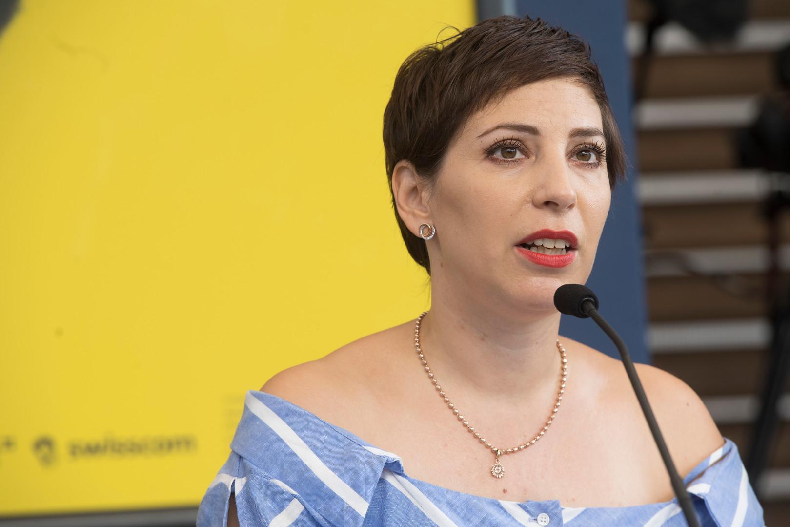 SWAN Copresident Laura Kaehr