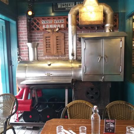 美式西部牛仔風 煙燻燒烤最道地:Salt Lick火車頭道地美式烤肉屋