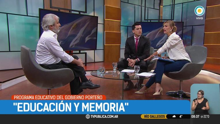 Entrevista a Claudio Altamirano en la TV Pública #TPA Noticias