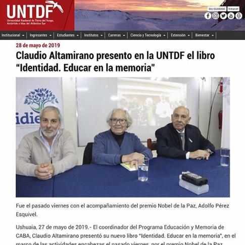 UNTDF - Nota