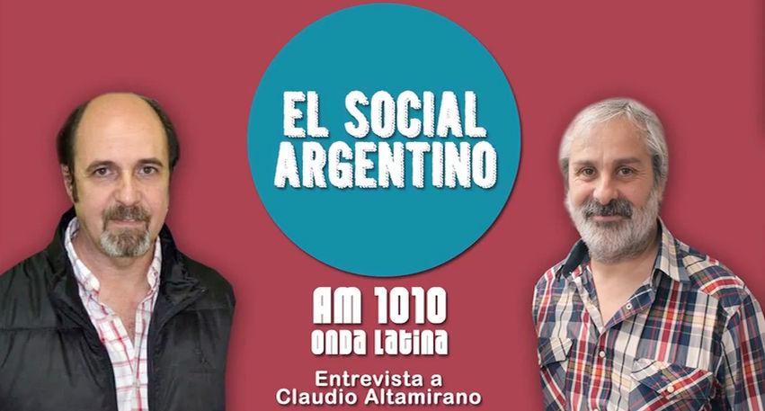 Entrevista a Claudio Altamirano en Onda Latina [AM 1010]