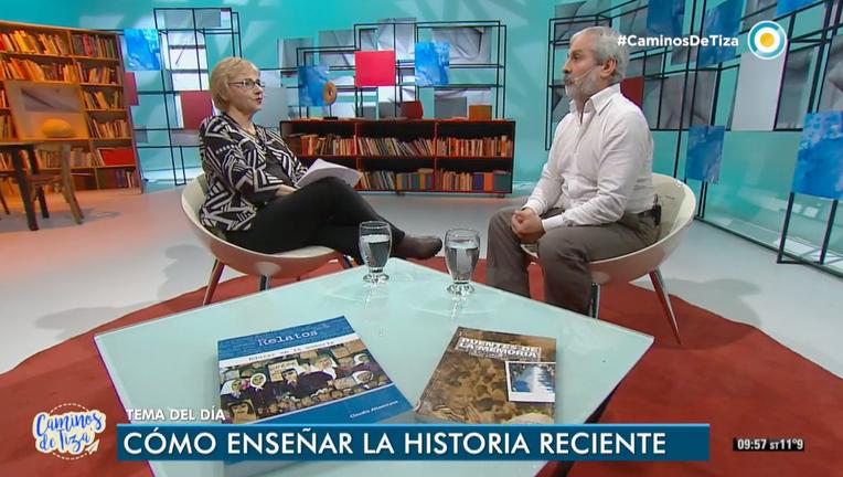 Entrevista al Profesor Claudio Altamirano en Caminos de Tiza Televisión Pública