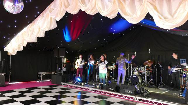 Marlin Marquees Stage hire.JPG