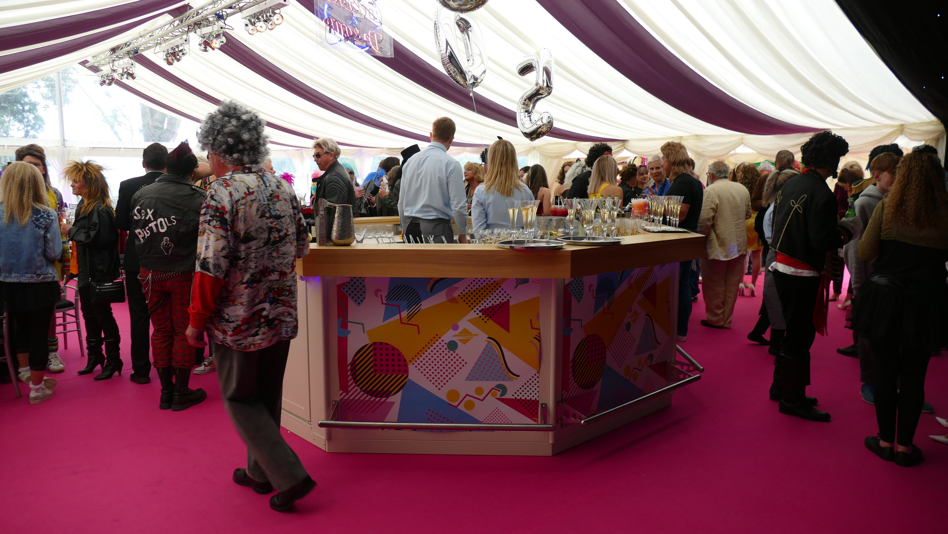 Marlin Marquees Coloured Roof Overlays.J
