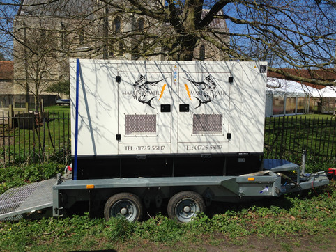 Marlin Marquees Generator and Power Hire