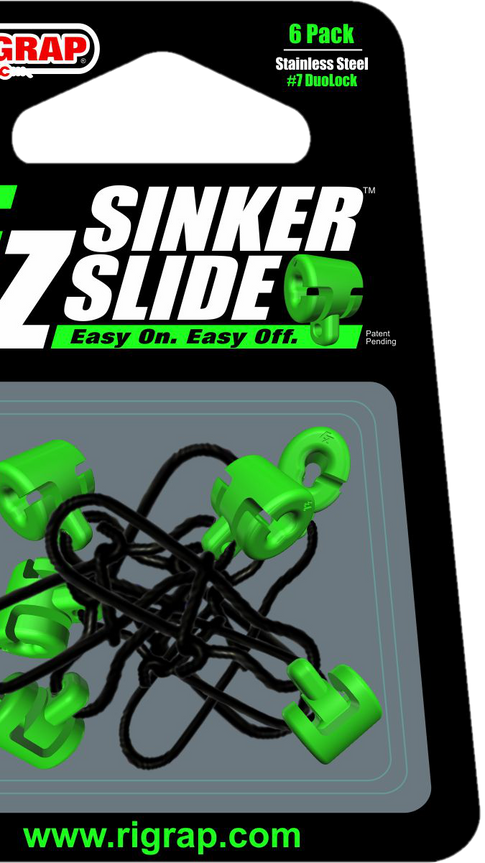 RIGRAP EZ SINKER SLIDE 6 Pack