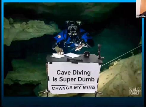Cave Diving is Super Dumb