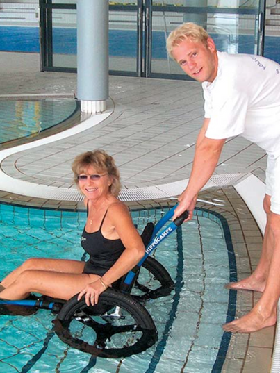 wheelchairs for pools