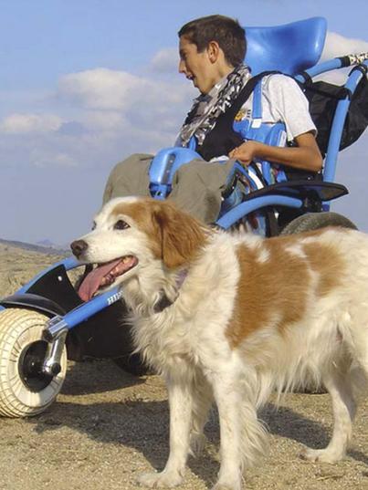 outdoor wheelchair