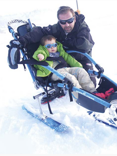 wheelchair for snow