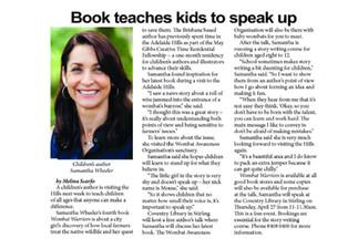 Speaking up with Weekender Herald