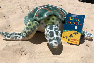 BUY NOW! My latest book Turtle Trackers is available for purchase.