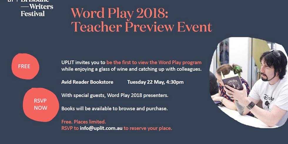 WORLD PLAY 2018: TEACHER PREVIEW EVENT