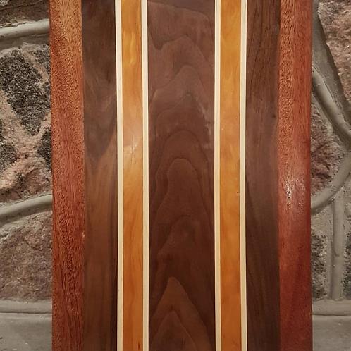 Mahogany, Black Walnut, Maple, Osage Orange