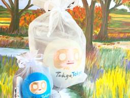 TokyoTokyo HappyDaruma 、環境配慮型の新パッケージ登場!リユース可能な、オーガンジーバッグ✨