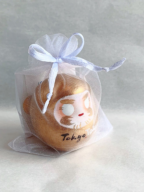 TokyoTokyo まめはぴ 金(高さ5cm)(全2色)